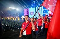 Bakü'de Avrupa Gençlik  Olimpik Yaz Festivali coşkusu