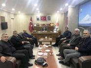 "Hasan Aras'tan Av. Tutulmaz'a ""Hayırlı Olsun"" Ziyareti"