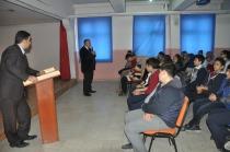 Serdar Ünsal öğrencilere 'Gazeteciliği' anlattı