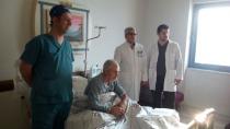Iğdır Devlet Hastanesinde ilk defa kapalı böbrek taşı ameliyatı yapıldı