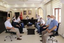 İşçi Sendikaların'dan Vali Belediye Başkanı Sarıibrahime Anlamlı Ziyaret