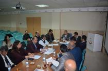 Iğdır İl Sağlık Müdürlüğünden  Değerlendirme Toplantısı