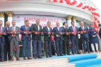Ulaştırma, Denizcilik ve Haberleşme Bakanı Arslan Bahçeşehir Koleji'nin Açılışını Yaptı