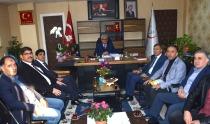 Rektör Alma'dan Iğdır İl Sağlık Müdürü Nevruz Erez'e Hayırlı Olsun Ziyareti