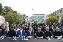 VALİ ENVER ÜNLÜ HZ. ALİ ASGAR'I ANMA GÜNÜ PROGRAMINA KATILDI