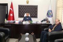 Belediye Başkanı Murat Yikit'e Nezaket Ziyareti
