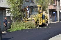 Asfalt Çalışması Söğütlü (İdirmava) Mahallesinde Devam Ediyor