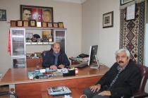 Alirıza Arslantürk'ten Nezaket Ziyareti