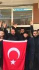 Ülkü Ocaklı Gençlerden, Ordu'ya, Türk Bayraklı Destek