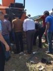 Tuzluca Belediyesi İtfaiye Çavuşluğundan Arabada Sıkışan Yaralıya Müdahale