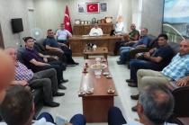 Memur-Sen Başkanı Malik AKŞİT'ten Ak partiye ziyaret