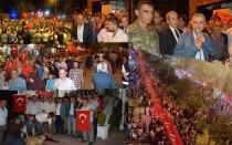 5 BİN KİŞİDEN DEMOKRASİ YÜRÜYÜŞÜ..