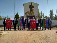 KARAKOYUNLU MUHTARLAR DERNEĞİNDEN AZERBAYCAN'A DESTEK