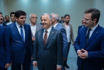 Ulaştırma Bakanı Ahmet Arslan, Mediko-Sosyal Binasını Ziyaret Etti