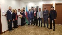 İSTAD Yönetiminden Azerbaycan Başkonsolosluğuna  ziyaret