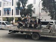 Polis'ten Kurallara Uymayan Motosiklet Sürücülerine Ceza