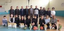 Iğdır Belediyesi Kadın Basketbol Takımına Destek de Bulundu