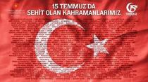 15 Temmuz Demokrasi ve Milli Birlik Günü Mesajı: