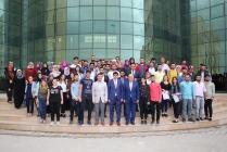 Girişimcilik Eğitimi Alan Öğrencilere Katılım Belgeleri Verildi