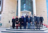 Ak Parti il Başkanı Ali Kemal  Ayaz Ticaret Odasını Ziyaret Etti