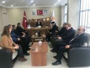 Dini Alimlerden Ak Parti İl Başkanı Tutulmaz'a Ziyaret
