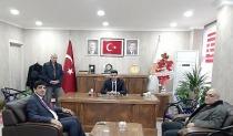 Rektör Alma'dan Ak Parti Iğdır İl Başkanı Ayaz'a Hayırlı Olsun Ziyareti