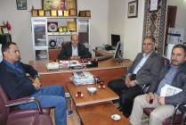 Cengiz Şeyran Gazetemizi ziyaret etti