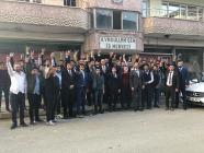 Ülkü Ocakları Eğitim Kültür Vakfı Genel Başkanı Olcay Kılavuz'dan Iğdır Ziyareti