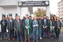 Iğdır'da Avukatlar Elçi İçin Basın Açıklaması Gerçekleştirdi