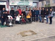 Iğdır Ülkü Ocakları Engellileri Unutmadı