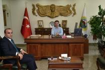 BEHBUD GADALI VALİ ÜNLÜ'YÜ ZİYARET ETTİ