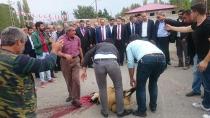 Pulur Köyünde MHP milletvekili Adaylarına coşkulu karşılama