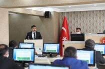 """Vali . H. Engin Sarıibrahim'in Katılımı İle """"İl Genel Meclis Toplantısı"""" Gerçekleştirildi"""