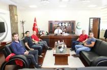 Iğdır Üniversitesi Genel Sekreteri Ahmet Kızılkurt'a Hayırlı Olsun Ziyaretleri Sürüyor