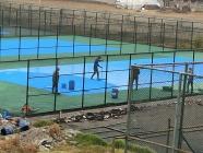 Iğdır Gençlik Spor İl Müdürlüğü Tenis Kortlarının Yapımına Başladı