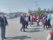 Cabbar Turan Okulları  Ziyaret Ederek  Öğrenciler ile sohbet etti