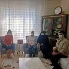 Hatice Sarıibrahim  Ayaztekin Ailesini Ziyaret Etti