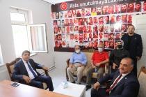 Iğdır Üniversitesi Rektörü Alma'dan  15 Temmuz Şehit ve Gazi Aileleri Derneğine Anlamlı Ziyaret