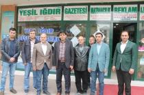 Rektör Mehmet Hakkı Alma'dan Gazetemize Nezaket Ziyareti
