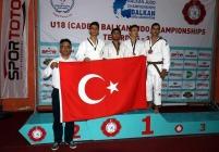 judoda bir balkan şampiyonu daha...