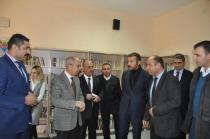 Iğdır'da şehit edilen 13 Polis anısına kütüphane açılışı yapıldı