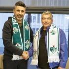 Alagöz Holding Iğdır FK. Bayram Toysal ile el sıkıştı