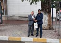 Hakkari Üniversitesi Rektörü Prof. Dr. Ömer Pakiş Rektör Alma'yı Ziyaret Etti