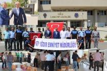 IĞDIR POLİSİ TERÖRLE MÜCADELE EDEN ARKADAŞLARINI UNUTMADI