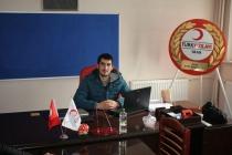 Türk Kızılayı Gençlik Kolları Iğdır İl Başkanlığına Muhammet İz, atandı.