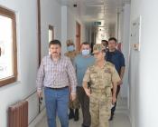 Vali/Belediye Başkanı Sarıibrahim, Sınırda İncelemelerde Bulundu