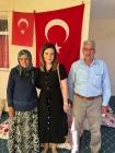 Vali/Belediye Başkan V. H. Engin Sarıibrahim'in  Eşi Hatice Hanımefendi Şehit Ailesini Ziyaret Etti