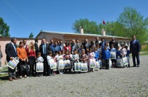 İl Özel İdaresinden köy çocuklarına  23 Nisan hediyesi
