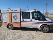Iğdır Afat  kurtarma ekipleri, deprem nedeniyle Elazığ'a gönderildi