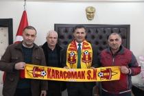 Karaçomak Spor Kulüp Yönetiminden  Ziyaret